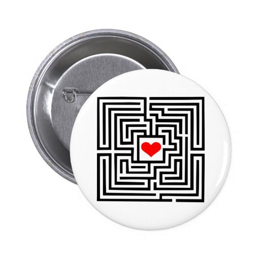 Labyrinth - Heart Buttons