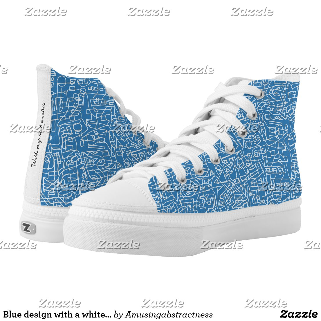 Labyrinth High-Top Sneakers