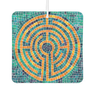 Labyrinth II Air Freshener - Square