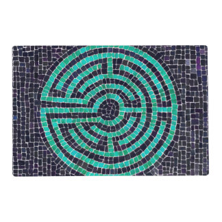 Labyrinth III Laminated Placemat