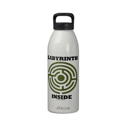 Labyrinth Inside (Maze) Reusable Water Bottles