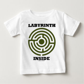 Labyrinth Inside (Psyche Psychological Humor) Baby T-Shirt