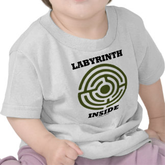 Labyrinth Inside (Psyche Psychological Humor) T Shirt