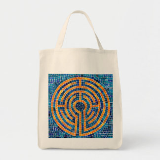 Labyrinth IV Grocery Tote