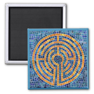 Labyrinth IV Square Magnet