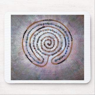 Labyrinth - mixed meddia mouse pad