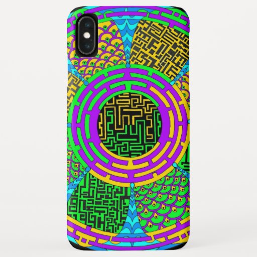 Labyrinth mobile iPhone XS max case