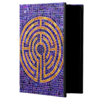 Labyrinth Mosaic Hardcover ipad Air Case
