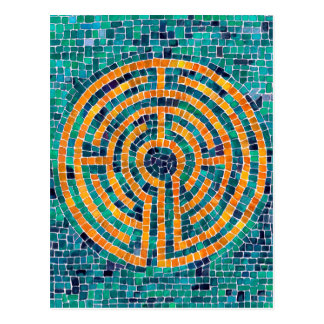 Labyrinth Mosaic II Post Card