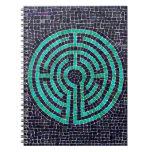 Labyrinth Mosaic III Photo Notebook