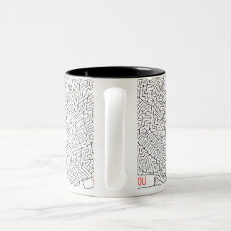 Labyrinth of Love Coffee Mugs