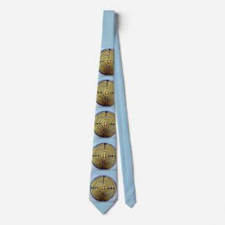 Labyrinth Pattern Neck Tie