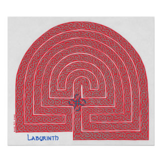 Labyrinth print