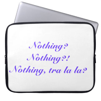 Labyrinth quote laptop sleeve