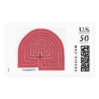 Labyrinth stamp