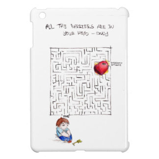 Labyrinth to my heart cover for the iPad mini