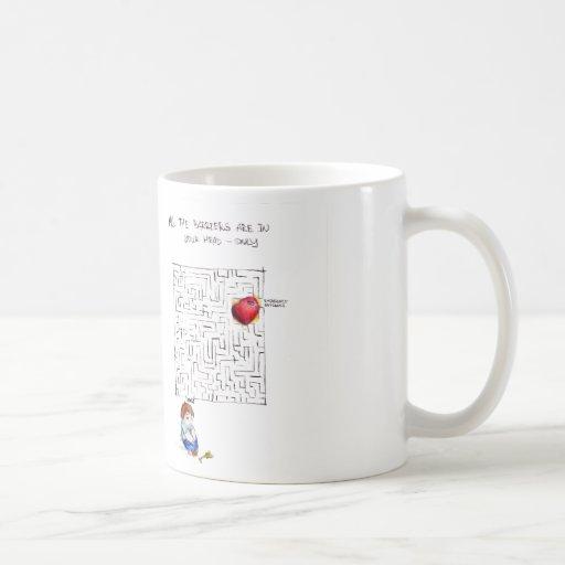 Labyrinth to my heart mug