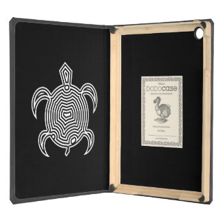 Labyrinth Turtle iPad Air Covers