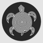 Labyrinth Turtle Stickers