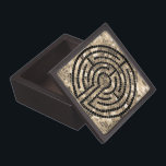 "Labyrinth V 3&quot; x 3&quot; Magnetic Wooden Gift Box<br><div class=""desc"">This design is a simplified version of the labyrinth at Chartres Cathedral in France. There is a sister version at Grace Cathedral in San Francisco. People walk the labyrinth in meditation,  for spiritual reflection.</div>"