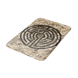 Labyrinth V Bath Mat