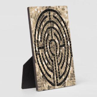 Labyrinth V Plaque with Easel Back