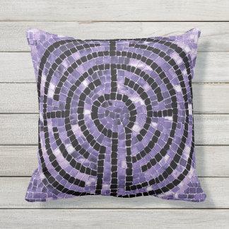 Labyrinth VI Throw Pillow