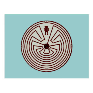 Labyrinth Walkers Walker A~Maze~ing Gifts Postcard