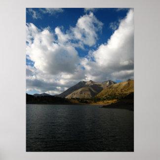 Lac d'Allos Poster