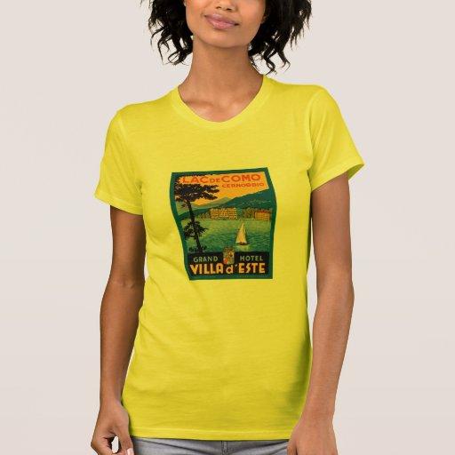 Lac de Como Camiseta