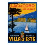 Lac de Como Greeting Card