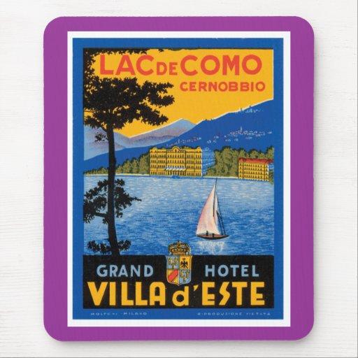 Lac de Como Mouse Pad