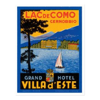 Lac de Como Postcard