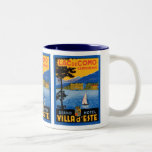 Lac de Como Two-Tone Coffee Mug