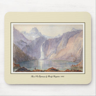 Lac d'Oo,Pyrenees Mouse Pad