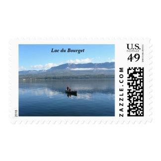 Lac du Bourget - Postage Stamps