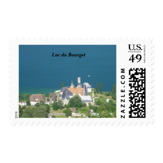 Lac du Bourget - Stamp