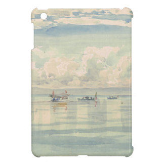 Lac Leman François Bocion Watercolor iPad Mini Cases