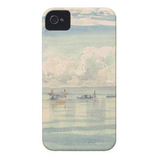 Lac Leman François Bocion Watercolor iPhone 4 Case