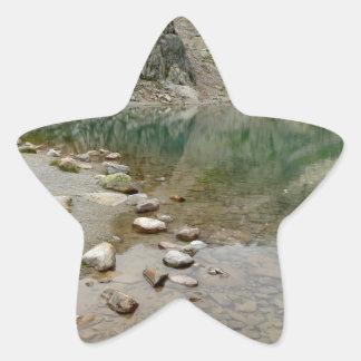 Laca Blanc - Francia Calcomanía Cuadrada Personalizada