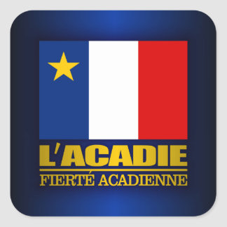 L'Acadie Square Sticker