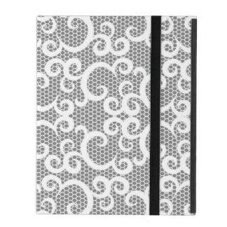 Lace 1 iPad folio case