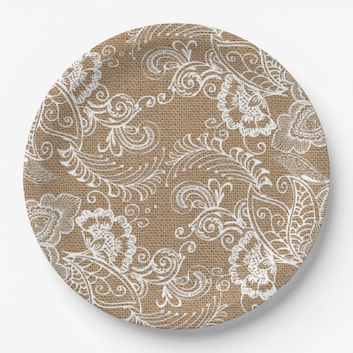 shabby chic paper plates Paper & party plates tea and crumpets plates rustic chic french country  lavender vintage bee  shabby country chic soft faded pink flowers paper  plate.