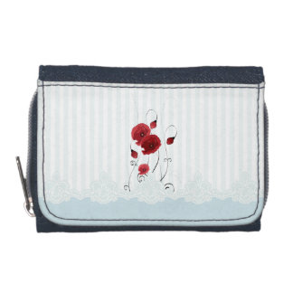 Lace and Flowers Wallet