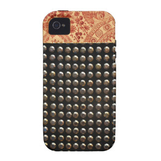 Lace And Studs Pattern Case-Mate iPhone 4 Covers