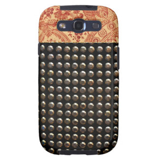 Lace And Studs Pattern Samsung Galaxy SIII Case