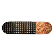 Lace And Studs Pattern Skateboard Deck