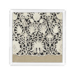 Lace Antique Sophisticated Style Contemporary Acrylic Tray