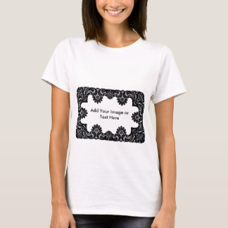 Lace Black & White  The MUSEUM Zazzle Gifts T-Shirt