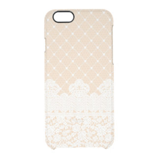 Lace Border Clear iPhone 6/6S Case